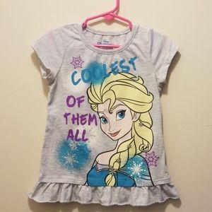 Elsa from frozen t shirt